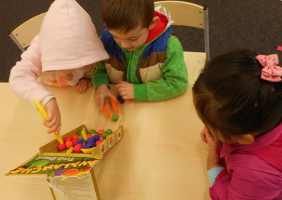 Island Bay Childcare kids plying together