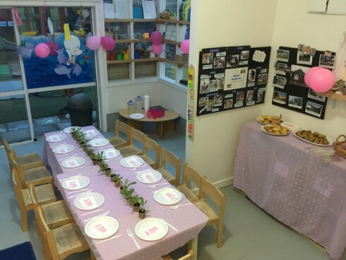 Pink Ribbon Breakfast at Miramar Childcare